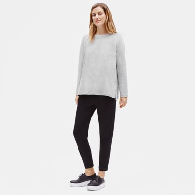 Tencel & Organic Cotton Fleece Top