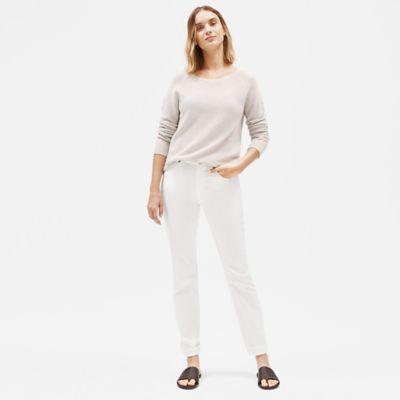 Organic Cotton Straight-Leg Jean