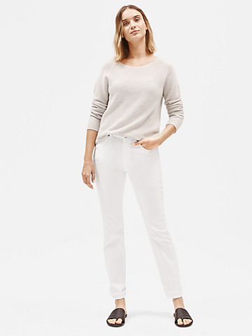 Organic Cotton Straight-Leg Jean