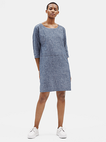 Hemp Organic Cotton Chambray Dress