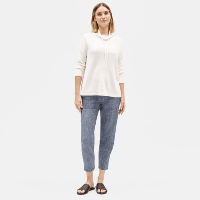 Hemp Organic Cotton Chambray Slouchy Pant