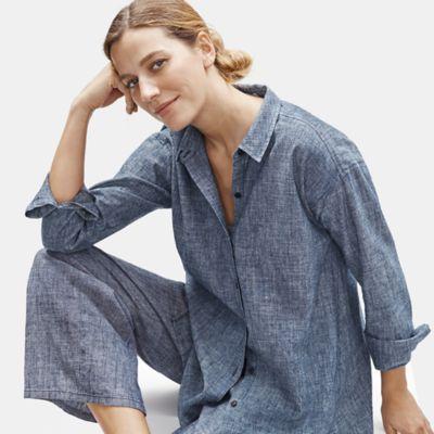 Hemp Organic Cotton Chambray Shirt