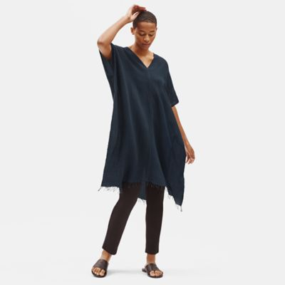 Handloomed Ethiopian Cotton Caftan