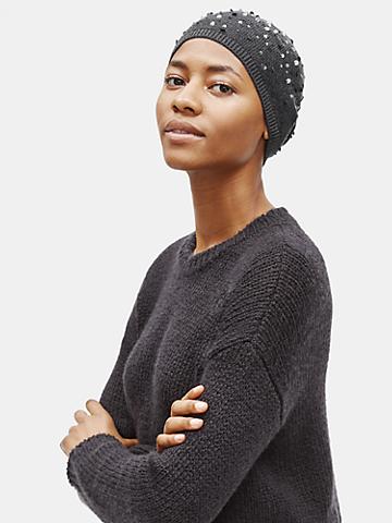 Merino Sequins Hat in Responsible Wool