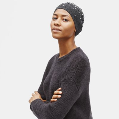 Merino Sequins Hat in Responsible Wool