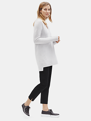 Organic Cotton Slim Ankle Pant