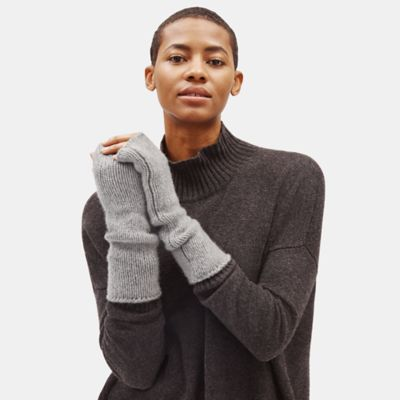Lofty Recycled Cashmere Glovelettes