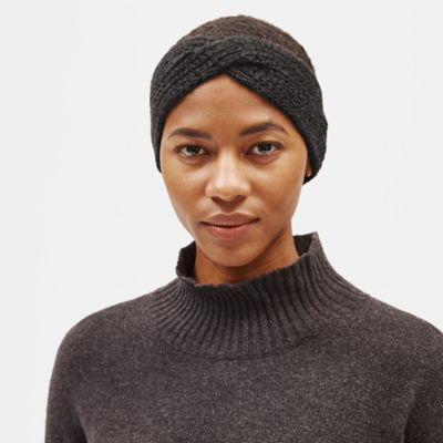 Lofty Recycled Cashmere Ear Warmer