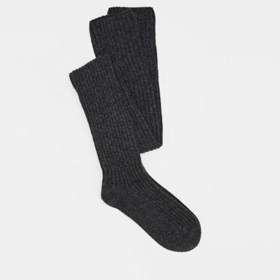 Cashmere Silk Viscose Over-the-Knee Sock