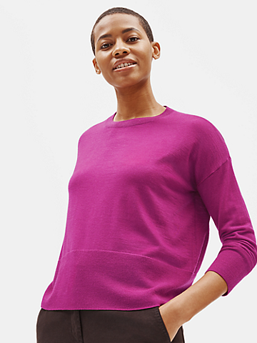 Ultrafine Merino Box-Top in Responsible Wool