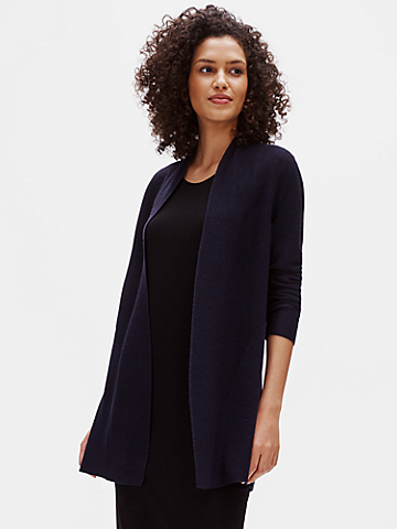 Merino Links Cardigan in Responsible Wool