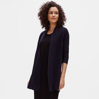 Merino Links Cardigan in Responsible Wool