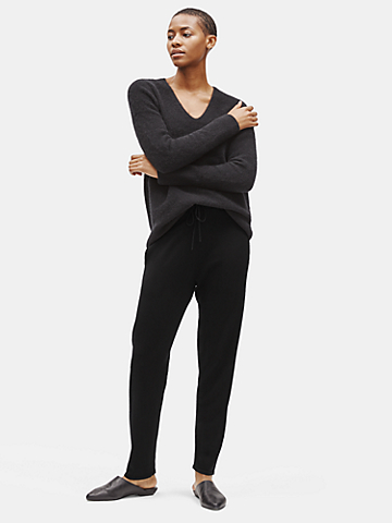 Merino Slouchy Pant in Responsible Wool