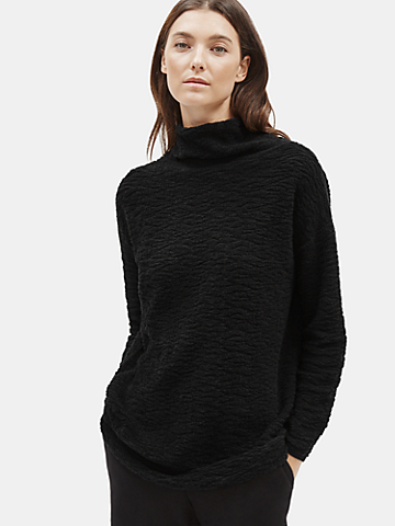 Organic Cotton Turtleneck Tunic