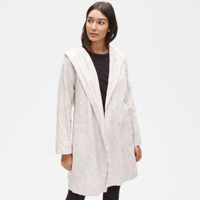 Organic Cotton Steel Hooded Jacket