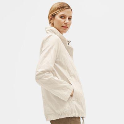 Organic Cotton Steel Stand Collar Jacket