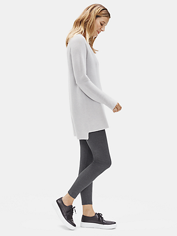 Tencel Stretch Rib Leggings