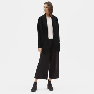 Cotton Tencel Stretch Shawl Collar Jacket