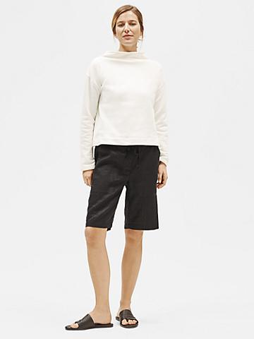 Organic Linen Drawstring Shorts