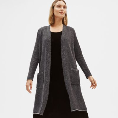 Lofty Recycled Cashmere Long Cardigan