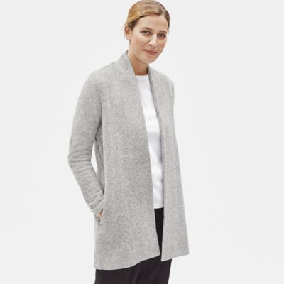 Organic Cotton Terry Cardigan