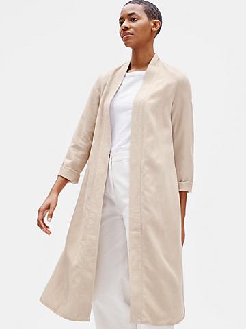 Tencel & Linen Long Jacket
