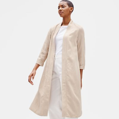Tencel & Linen Long Jacket