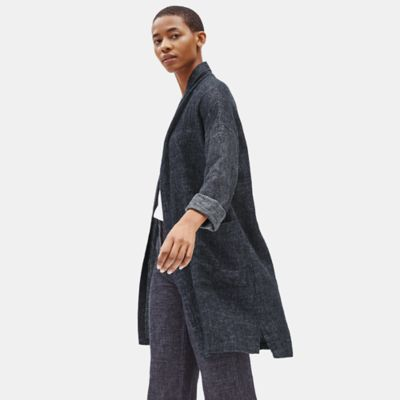 Tweedy Hemp Organic Cotton Long Coat