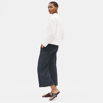 Tweedy Hemp Organic Cotton Wide-Leg Pant