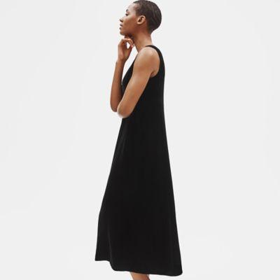 Velvet Scoop Neck Dress