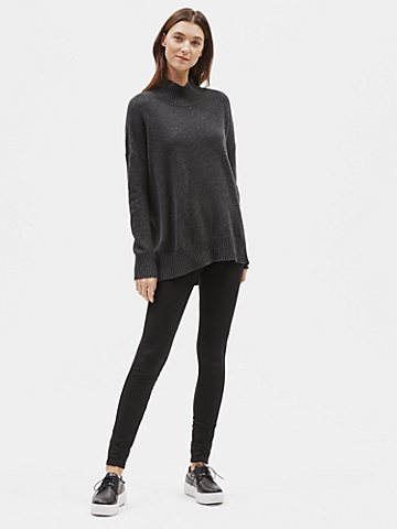 Tencel Stretch Ridge Leggings
