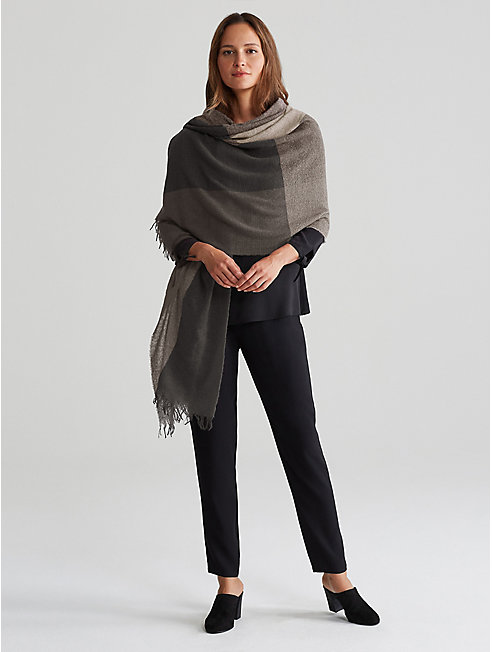 Reclaimed Cashmere Wrap