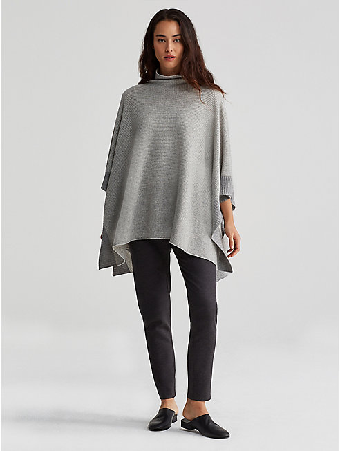 Cashmere Thermal Poncho