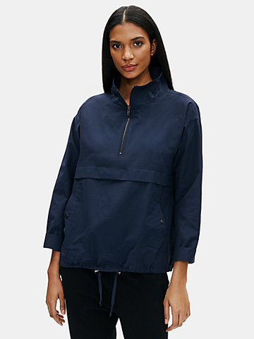 Light Organic Cotton Nylon Jacket