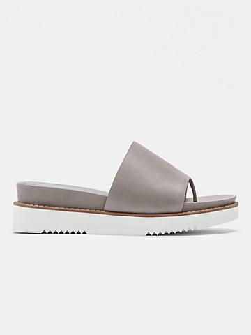 Touch Leather Flatform Sandal
