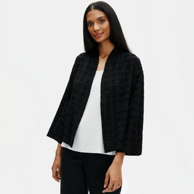 Organic Cotton Shadow Square Jacket