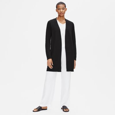 Organic Linen Cotton Long Cardigan