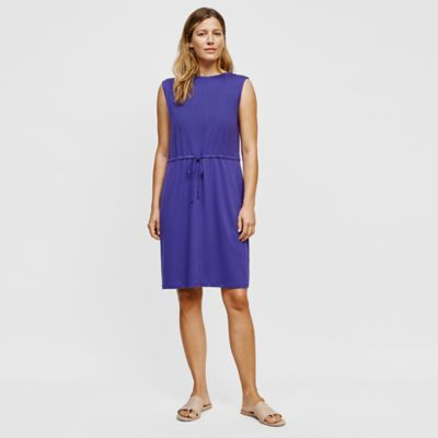 Tencel Jersey Bateau Neck Dress