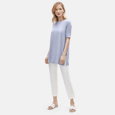 Fine Jersey Elbow-Sleeve Tunic