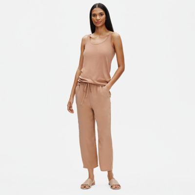 Stretch Silk Jersey Long Cami