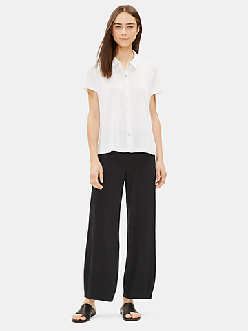 Hemp Organic Cotton Lantern Pant