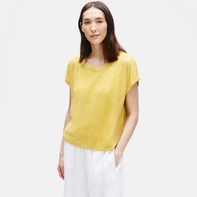 Hemp Organic Cotton Short-Sleeve Box-Top
