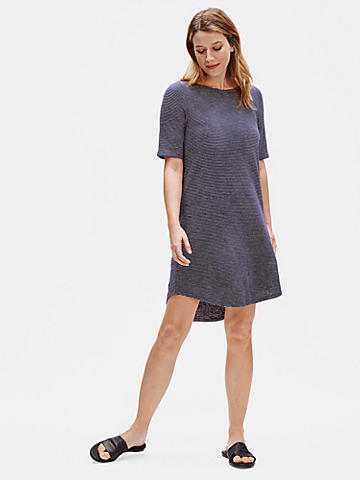 Hemp Organic Cotton Striped Dress