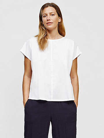 Organic Cotton Round Neck Top