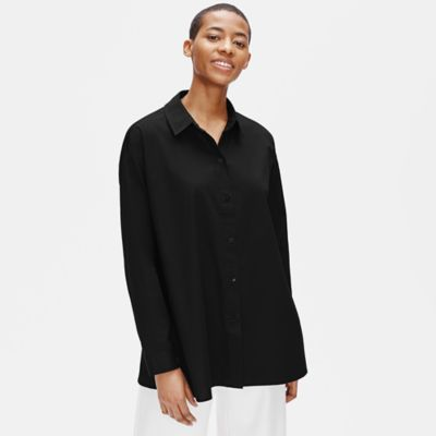 Organic Cotton Classic Collar Swing Shirt
