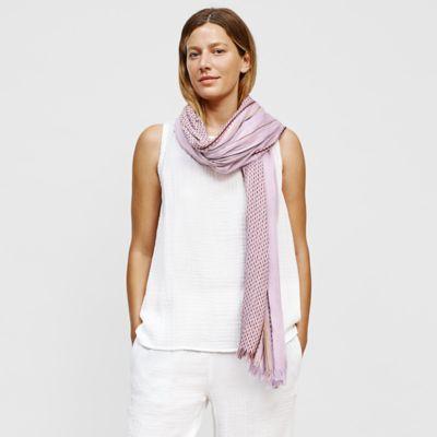 Organic Cotton Stitched Stripe Wrap