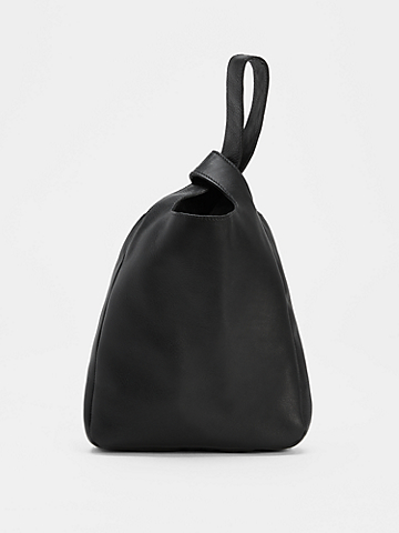 Buttery Leather Knot Bag