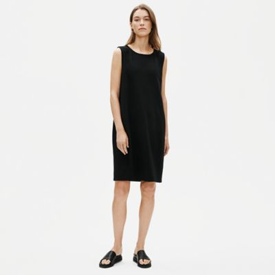 Organic Cotton Stretch Lantern Dress