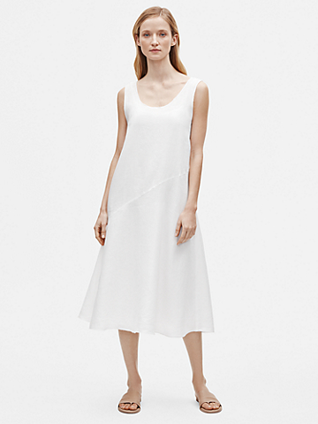Organic Handkerchief Linen Tank Dress