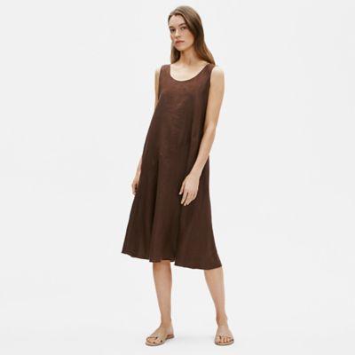 Organic Handkerchief Linen Tank Dress